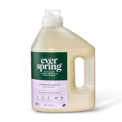 Lavender & Bergamot Liquid Laundry Detergent - 100 fl oz - Everspring