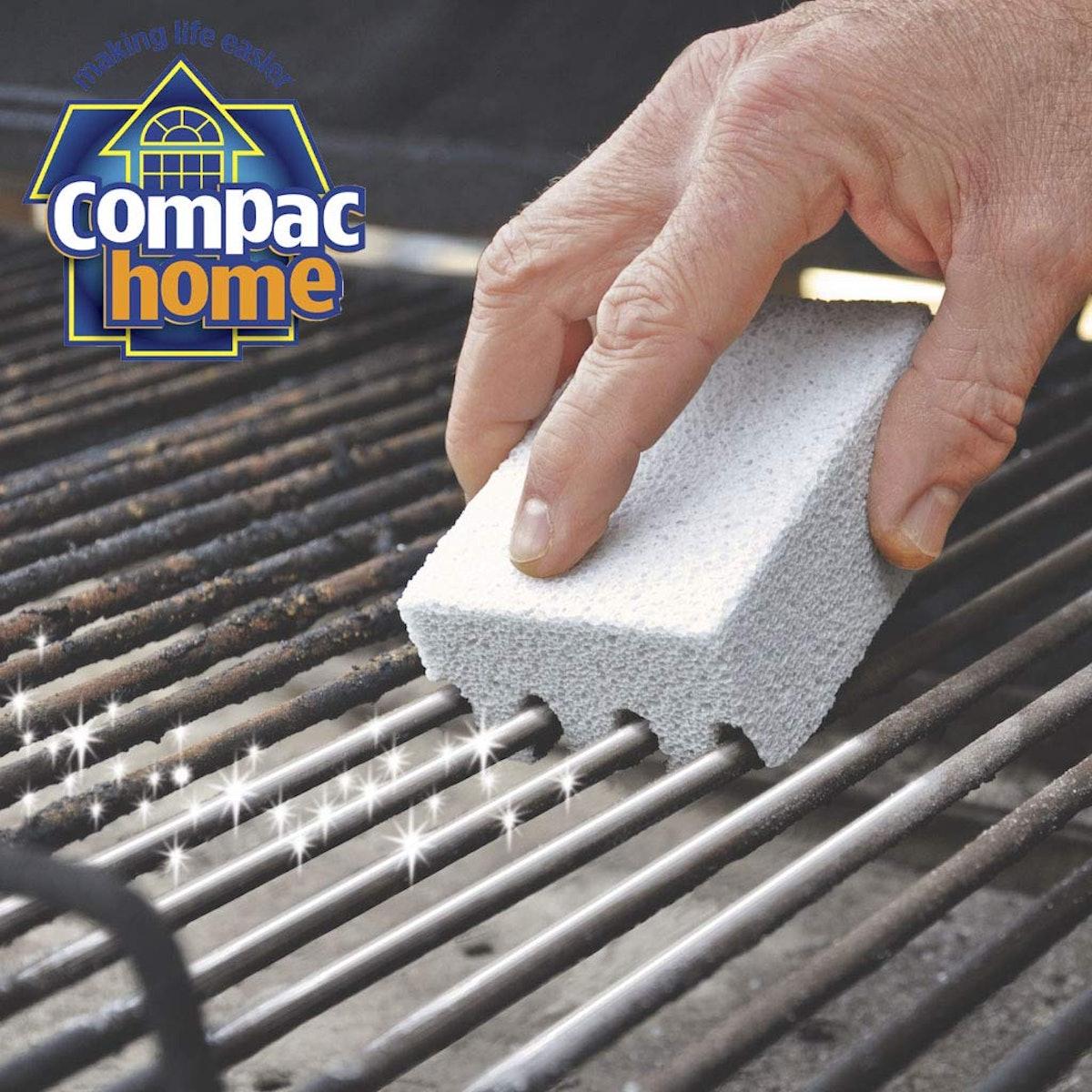 Compac's Magic-Stone Grill Cleaner Scrub
