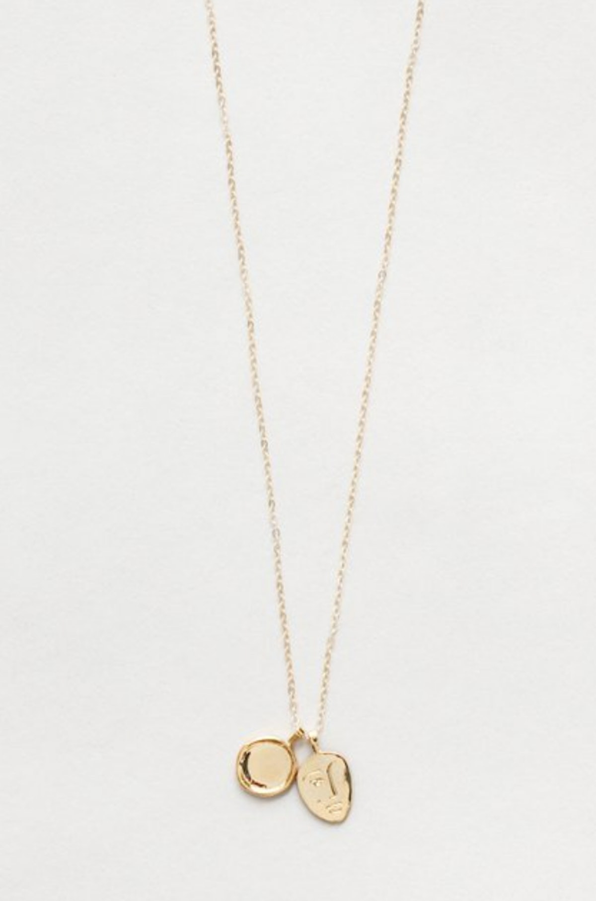 Margerite Necklace in Gold