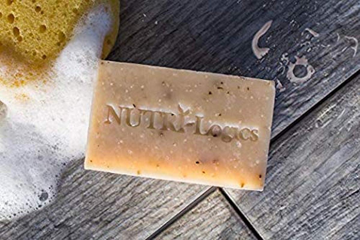 NUTRI-Logics Organic Honeysuckle Lemon Colloidal Silver Soap