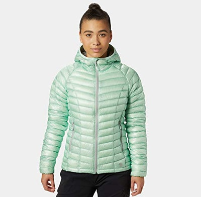 Mountain Hardwear Womens Ghost Whisperer Insulated Down Water Repellant Jacket with Hood