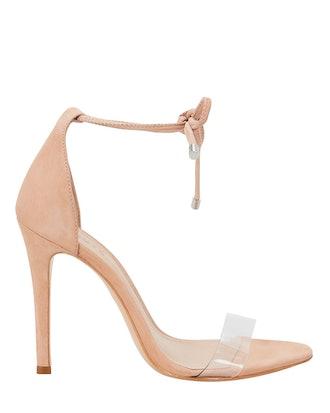 Monique PVC Vamp Strap Sandals