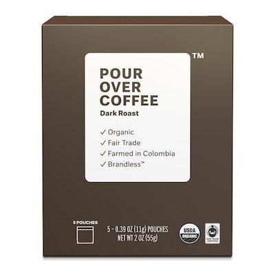 Organic Fair Trade Dark Roast Pour Over Coffee