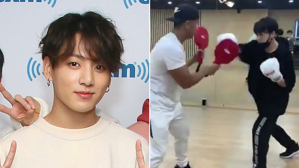 This Video Of BTS' Jungkook Boxing Is So Powerful, It'll