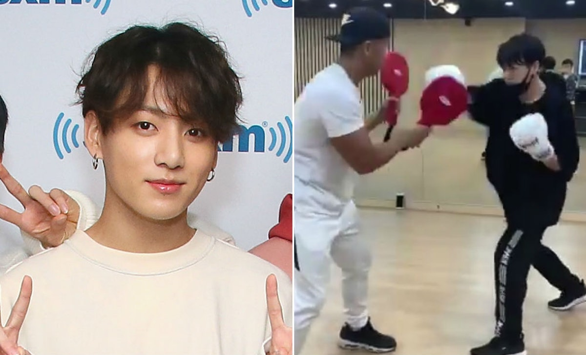 This Video Of BTS' Jungkook Boxing Is So Powerful, It'll Knock You Out Cold