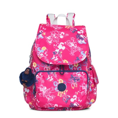 Seoul Go Disney's Minnie Mouse And Mickey Mouse Large Laptop Backpack