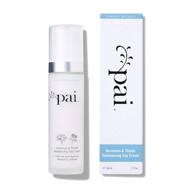 Pai Skincare Organic Geranium & Thistle Rebalancing Day Cream Moisturizer