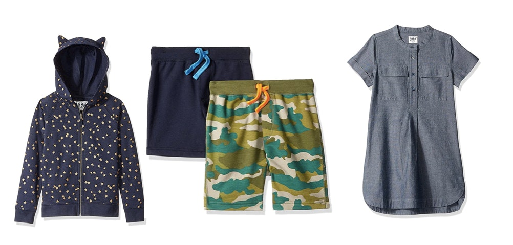 LOOK by Crewcuts Boys 2-Pack Knit Pull on Shorts Casual Shorts