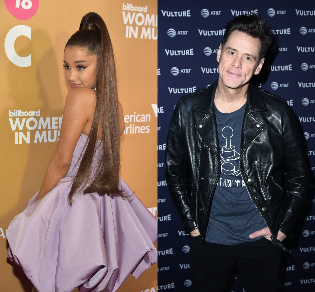 Ariana Grande & Jim Carrey's Twitter Exchange About Depression Is Such A Moving & Honest Dialogue