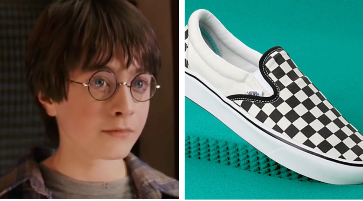 A Vans x 'Harry Potter' Collection Is Coming For Wizards, Witches & Yes, Even Muggles