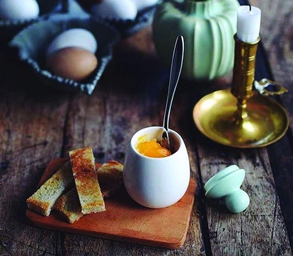 AggCoddler Porcelein Egg Cooker