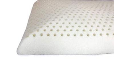 OrganicTextiles Slim Natural Latex Pillow