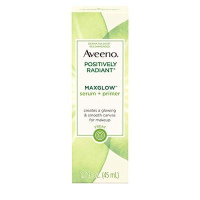 Aveeno Positively Radiant Maxglow Serum + Primer