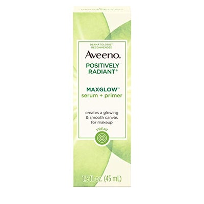 Aveeno Positively Radiant Maxglow Serum + Primer