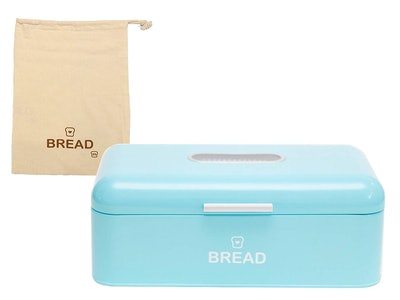 EandB Vintage Bread Box