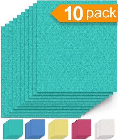 Swedish Cellulose Dishcloths (10 Pack)