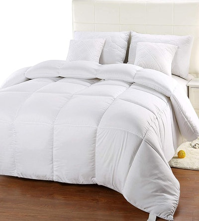 Utopia Bedding Quilted Comforter With Corner Tabs