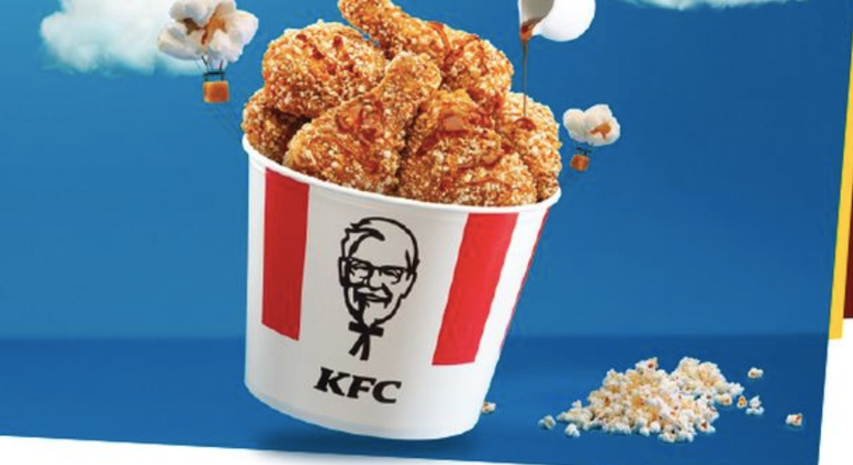 KFC Hong Kong Has Popcorn-Breaded Chicken & The Photos Will Make You Drool