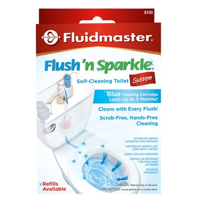 Flush'n Sparkle Automatic Toilet Bowl Cleaning System