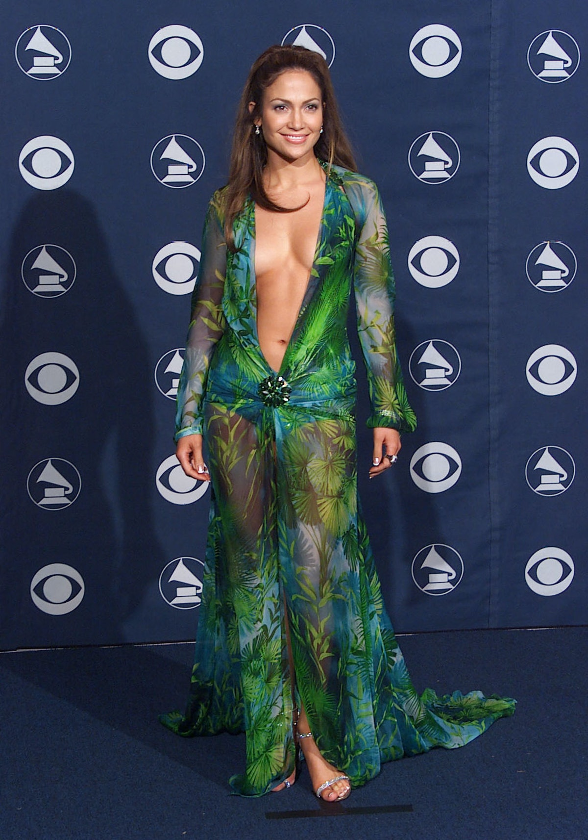 Jennifer Lopez Almost Didn't Wear Her Iconic Green Versace Dress To The 2000 Grammy Awards