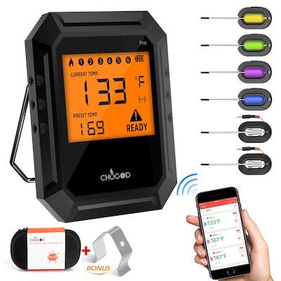 Nobebird Bluetooth 6 Probe Meat Thermometer