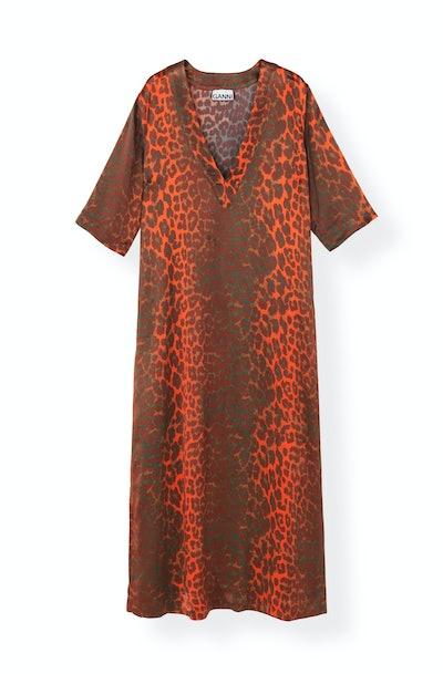 Heavy Satin Dress