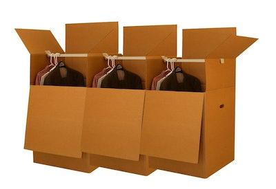 UBOXES Large Wardrobe Moving Boxes (3-Pack)