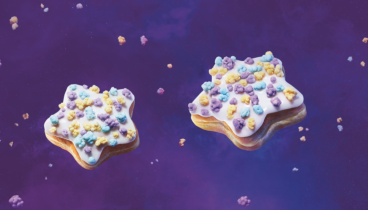 Dunkin's Shooting Star Donuts Topped With Popping Candy Are Here For A Limited Time