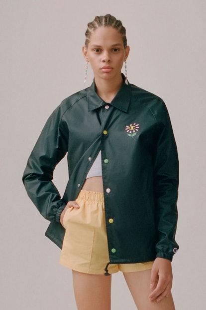 Flower Coach Jacket