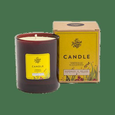 The Handmade Soap Company Lemongrass & Cedarwood candle