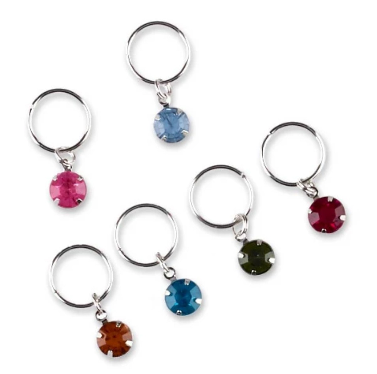 Sincerely Jules by Scunci Galaxy Hair Rings with Stones