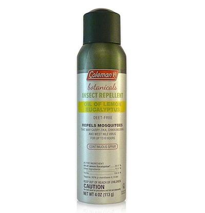 Coleman DEET Free Lemon Eucalyptus Insect Repellent