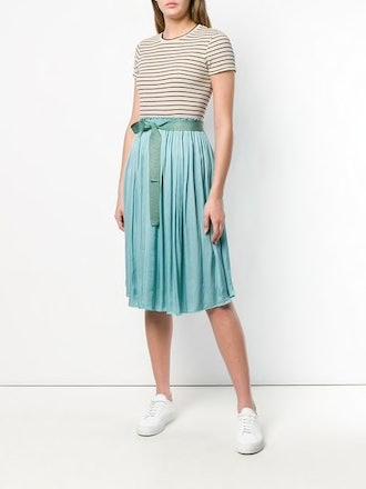 Asymmetrical Pleat Skirt