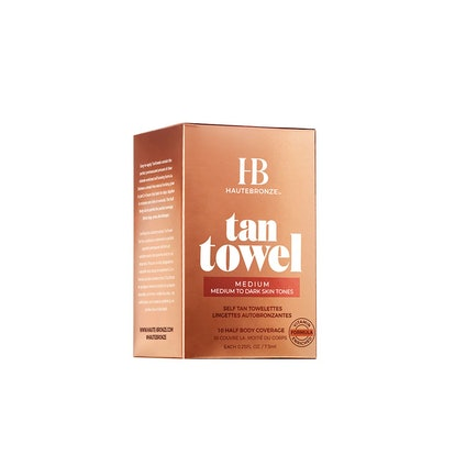 Tan Towel Half Body Self Tan Towelettes