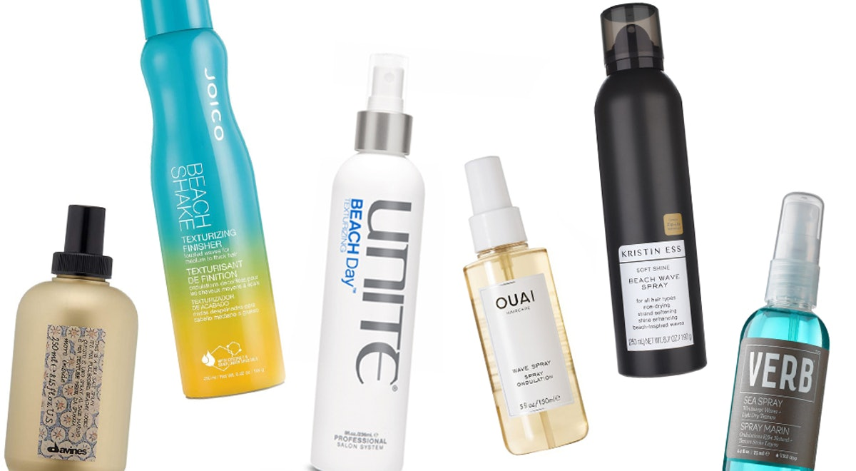 The 9 Best Wave Sprays For Summer, Whether You Air Dry Or Style Your Strands