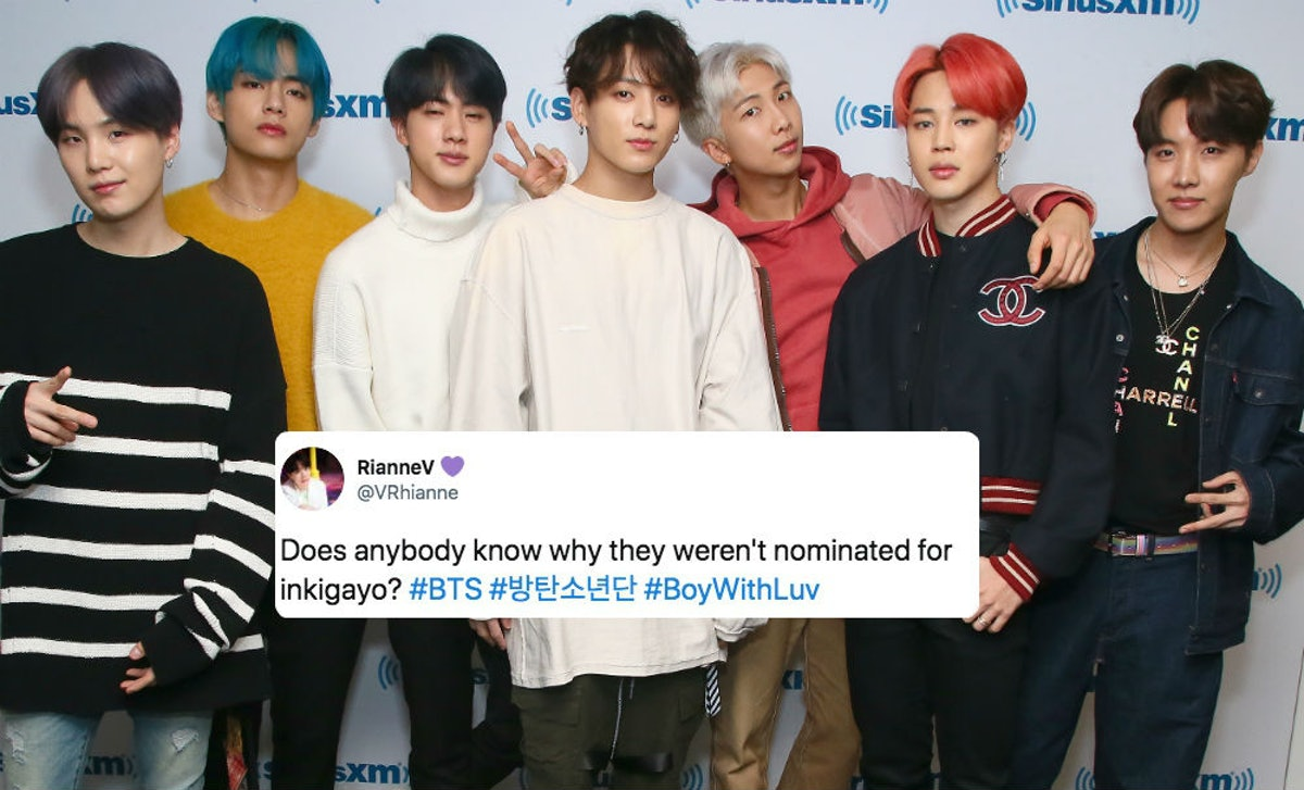 These Tweets About BTS' 'Inkigayo' Snub Seemingly Point Out An Unfair Anomaly In The Criteria
