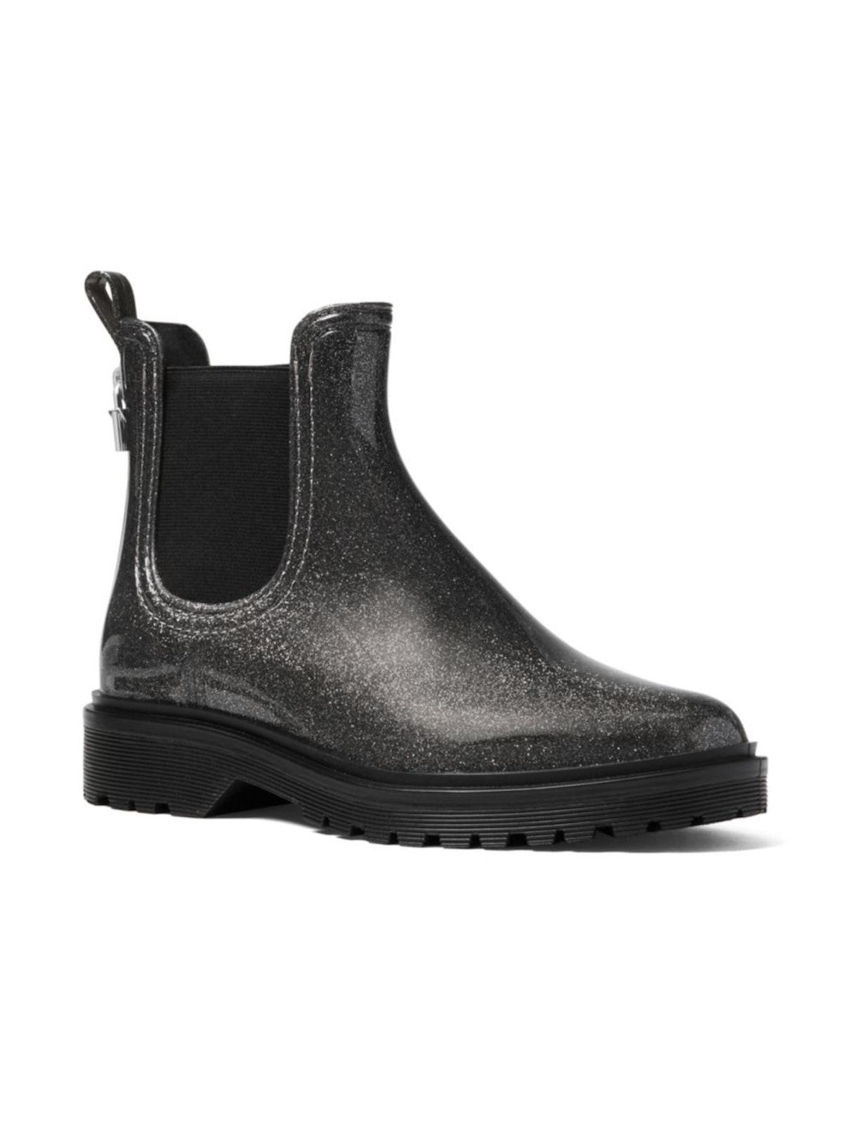 MICHAEL Michael Kors Tipton Metallic Rain Booties
