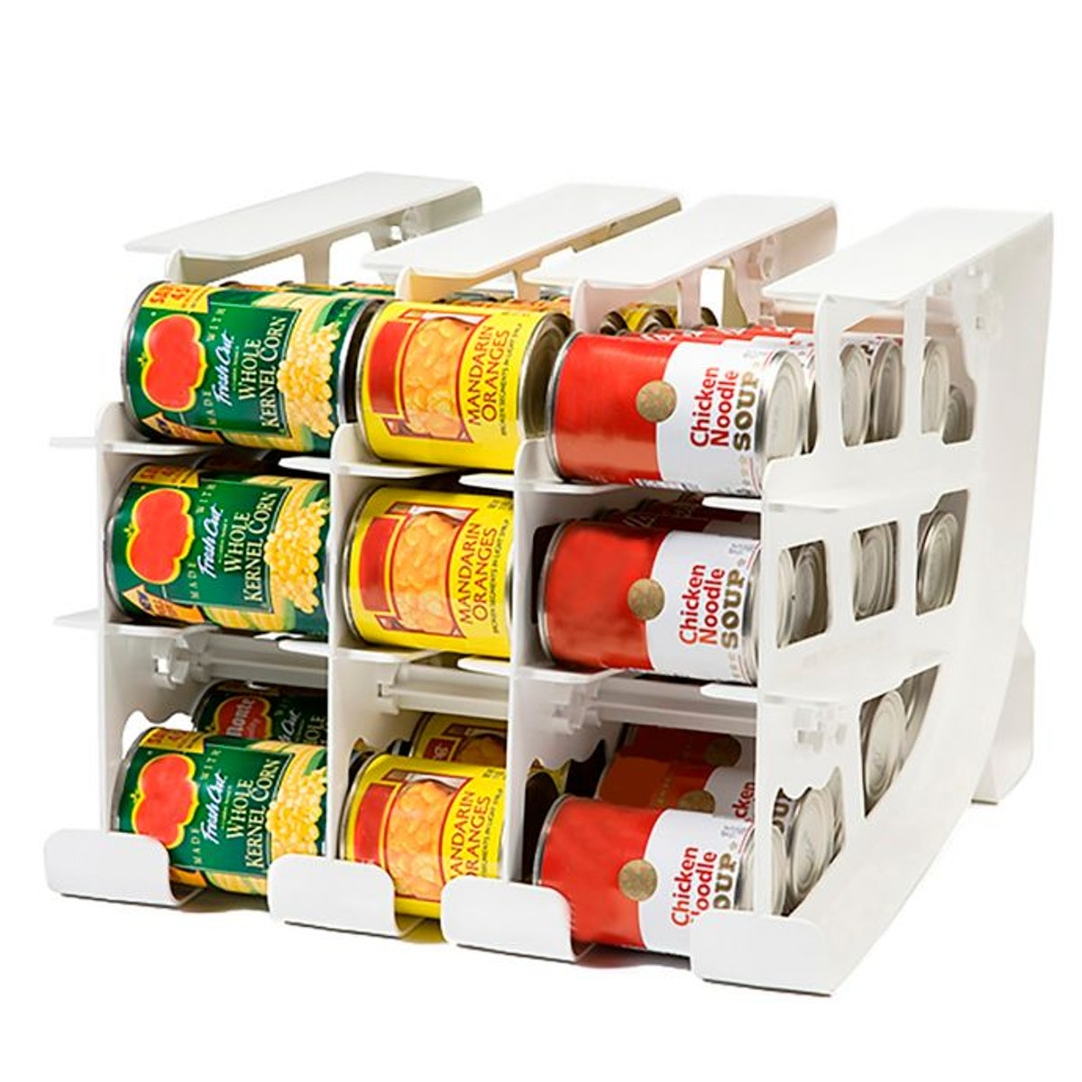 FIFO Can Tracker Food Storage Organizer