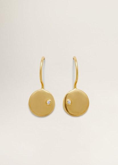 Goya Beaded Pendant Earrings