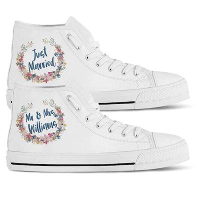 Just Married Sneakers