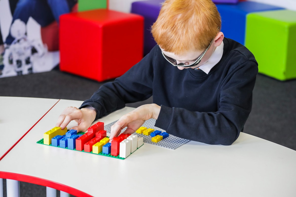 LEGO Braille Bricks Are Here To Help Visually Impaired Children Learn To Read, & The Inclusivity Is So Inspiring