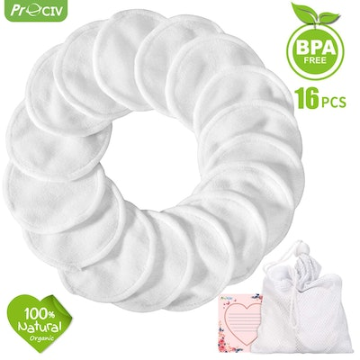 Reusable Bamboo Cotton Rounds (16 Pack)