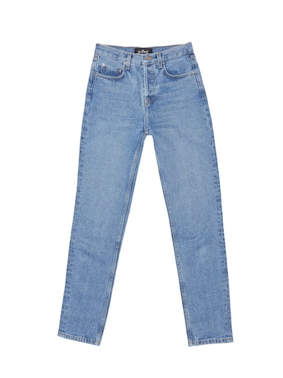 Classic High-Waisted Blue Denim