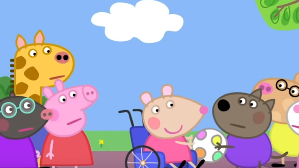 Peppa Pig S New Character Who Uses A Wheelchair Will Teach Kids