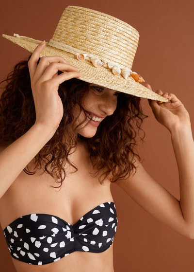 Shells Straw Hat