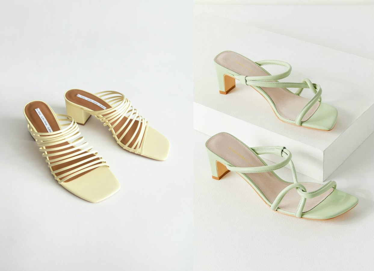 abe4ee54b9d 20 Strappy Heeled Sandals That Are Cute, Colorful, & Won't Kill Your ...