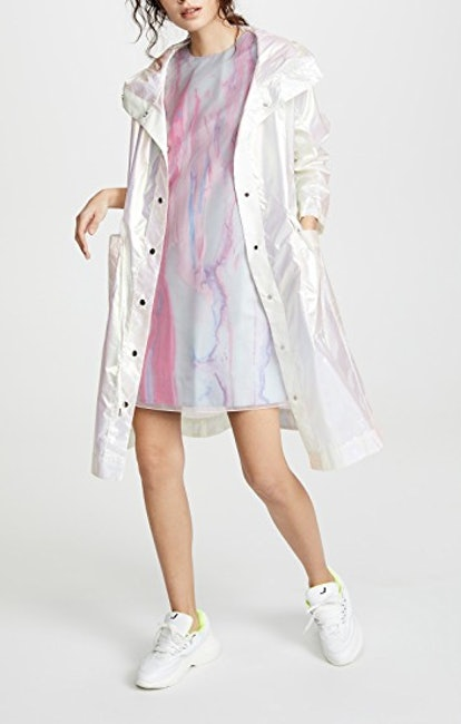 Iridescent Hooded Parka
