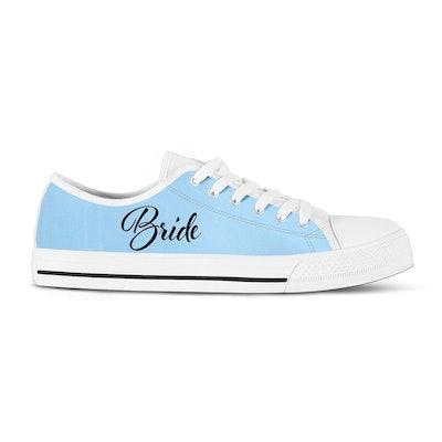 Something Blue Bridal Sneakers