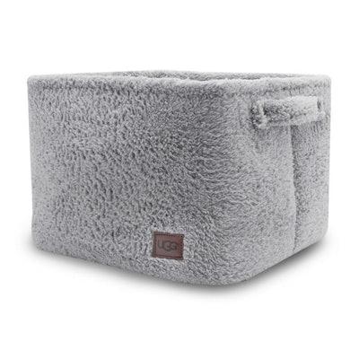 UGG® Carson Sherpa Large Storage Tote in Grey, Large