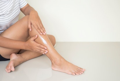 Applying lotion sounds simple, but it has a way of reconnecting you to your body before bed.